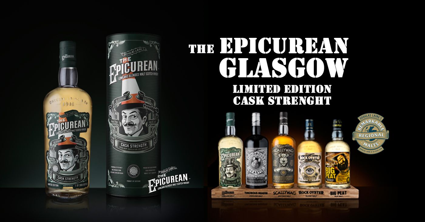 The Epicurean Glasgow Limited Edition Cask Strengh