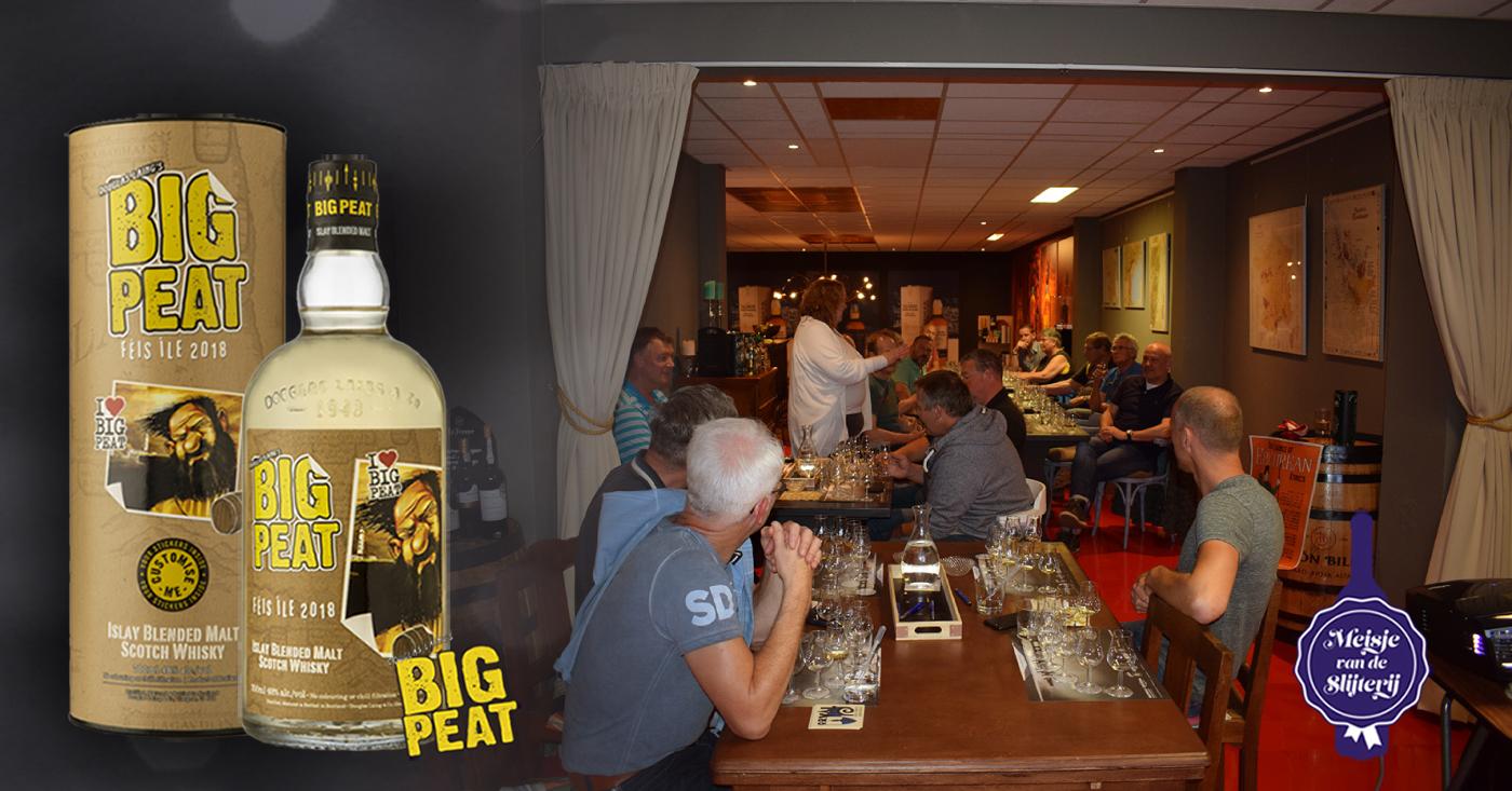 Bijzondere Big Peat Feis Ile 2018 Islay Whisky te proeven op tasting bij Slijterij De Vuurtoren