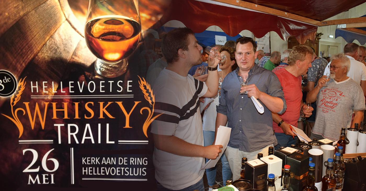 Gesherriede whisky's van Tamdhu en Glengoyne populair op 3e editie Hellevoetse Whisky Trail