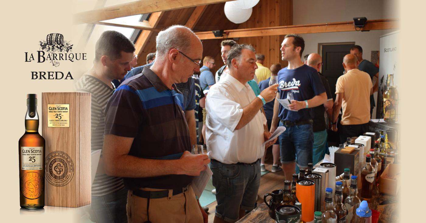 Glen Scotia 25 YO valt in de smaak op jubileum whiskyfestival Slijterij La Barrique in Breda