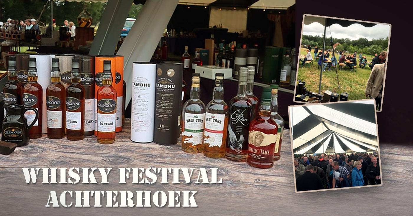 Whisky's Glengoyne voelen zich thuis op Whisky Festival Achterhoek