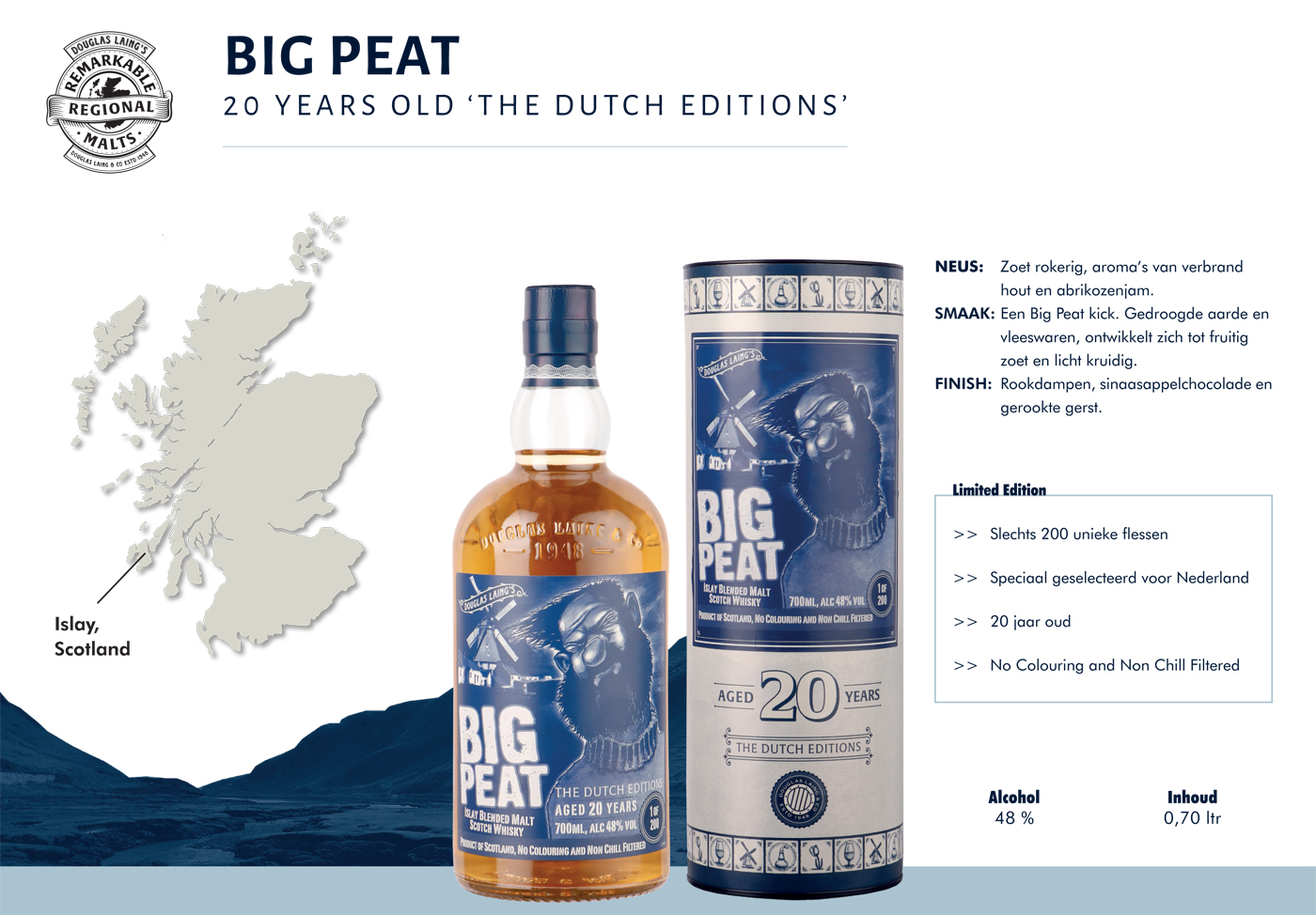 Big Peat 20 Years Old The Dutch Editions