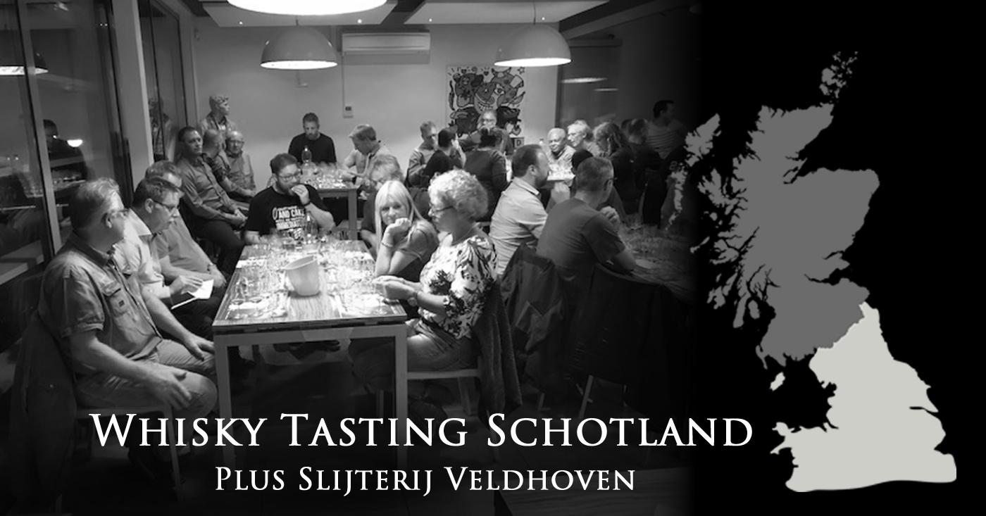 Alle Schotse whiskyregio's kwamen aan bod tijdens tasting in Veldhoven