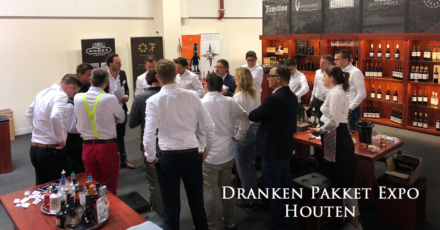 Ontspannen sfeer op Dranken & Pakket Expo