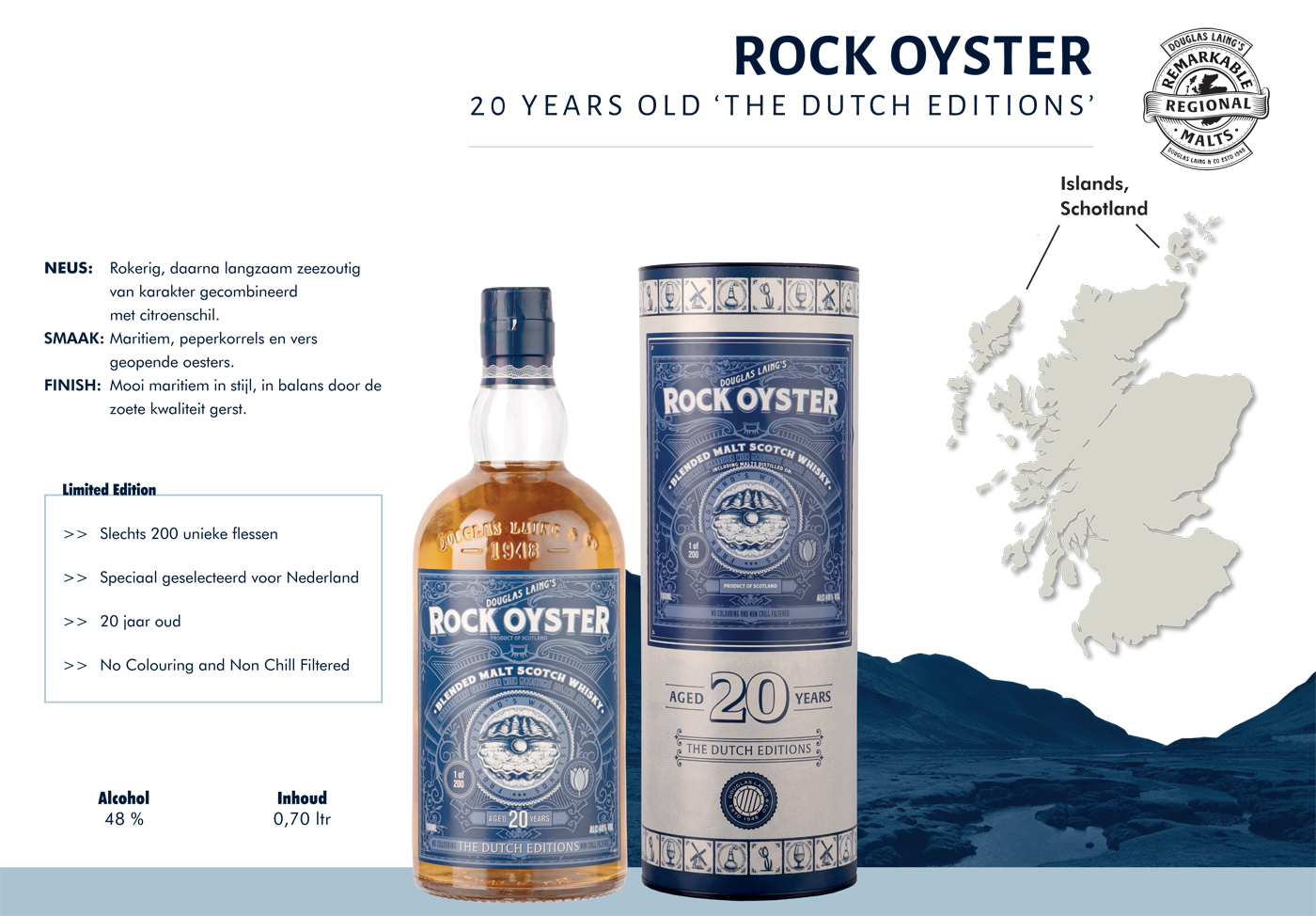 Rock Oyster 20 Years Old The Dutch Editions