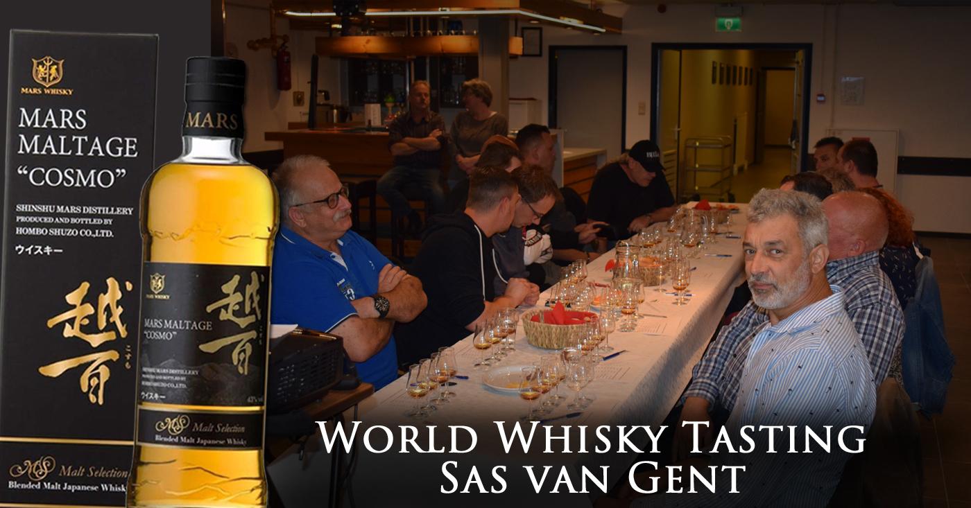 Stormachtige herfstavond leidt whisky liefhebbers uit Sas van Gent naar Japanse Alpen