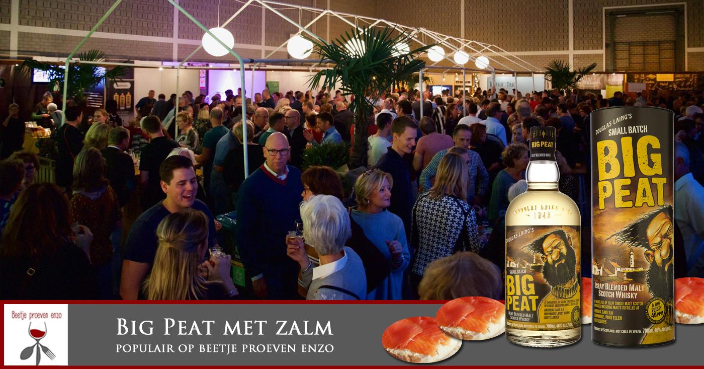 Big Peat met zalm maakt bezoekers van Beetje Proeven Enzo laaiend enthousiast!