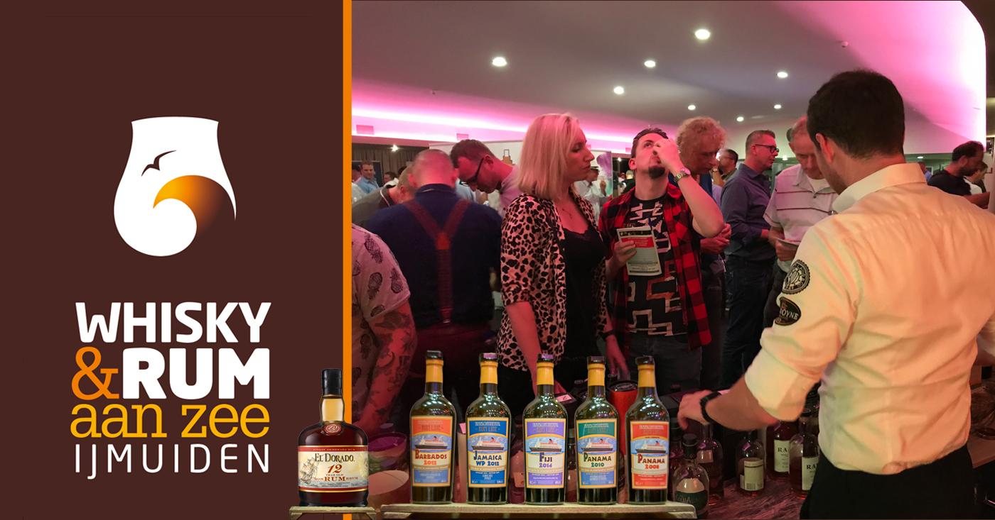 El Dorado en Transcontinental Rum Line maken naam op Whisky & Rum aan Zee