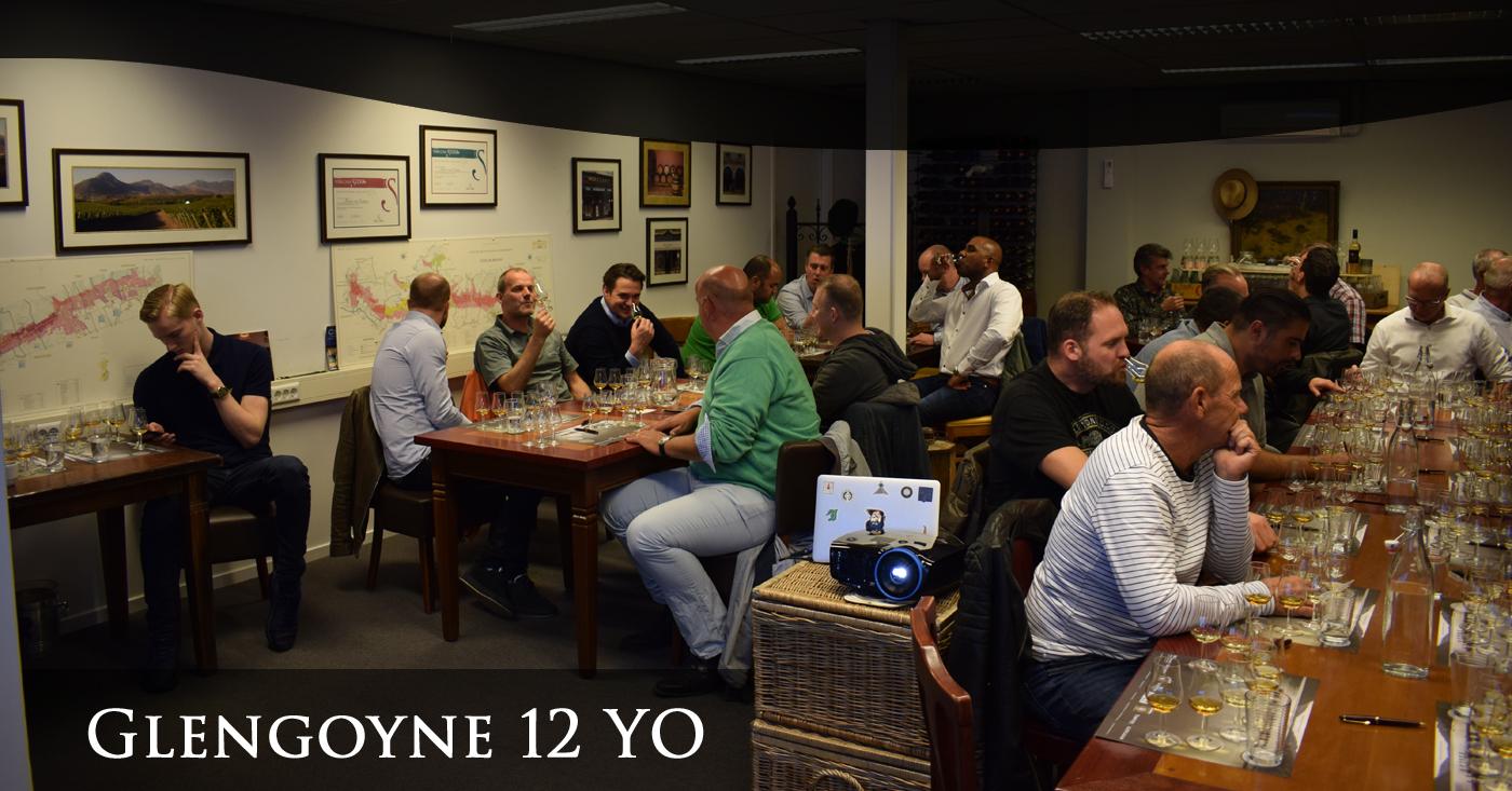 Glengoyne 12 YO bevalt beginnende whiskydrinkers uit Veldhoven uitstekend