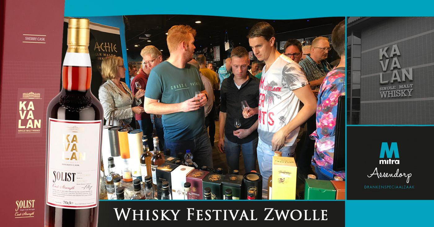Kavalan Solist Sherry Cask positief ontvangen op Whisky Festival Zwolle