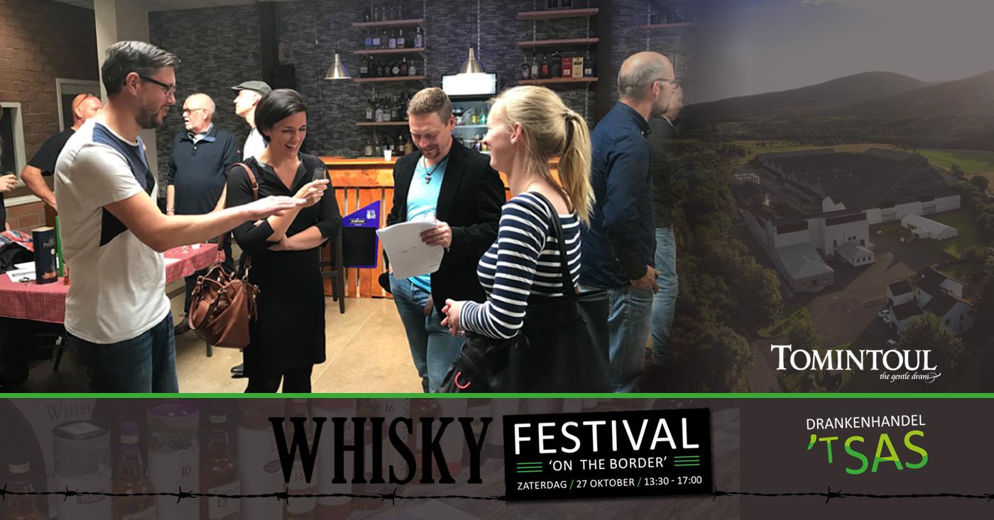 Nieuwe lading fans voor Tomintoul dankzij Whisky on the Border Festival in Zeeuws Vlaanderen