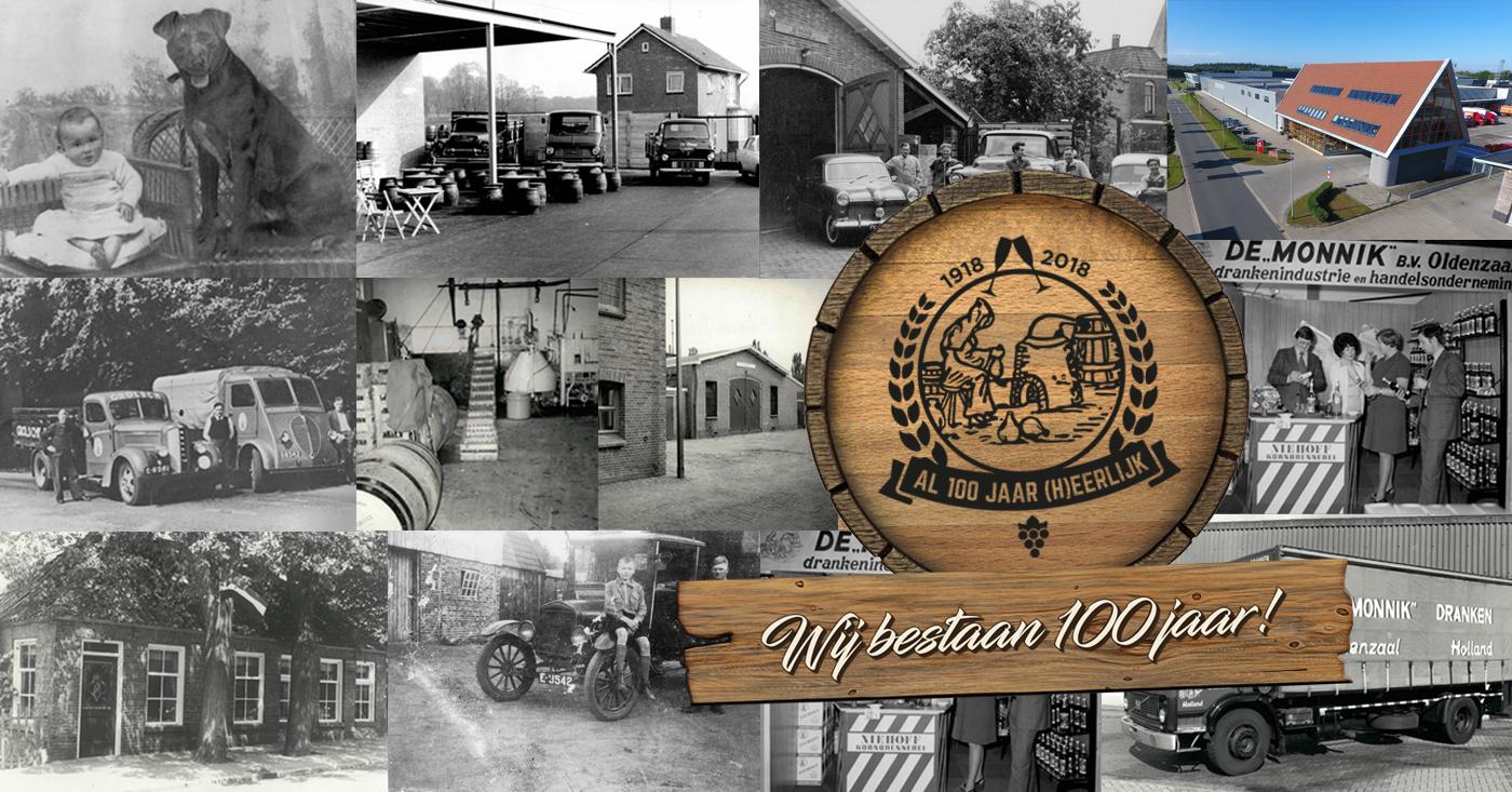 Persbericht 'Jubileum 100 jaar De Monnik Dranken'
