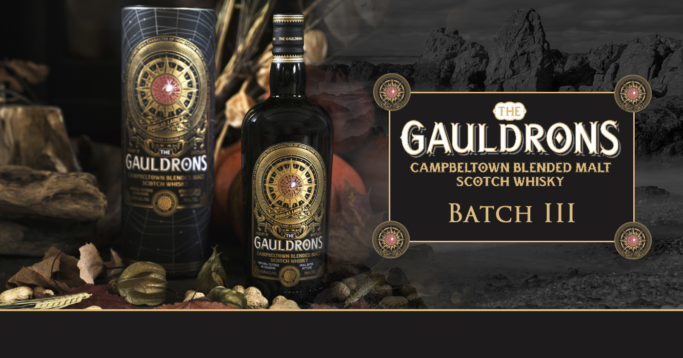 The Gauldrons Campbeltown Limited Edition Batch 3 verkrijgbaar voor Halloween