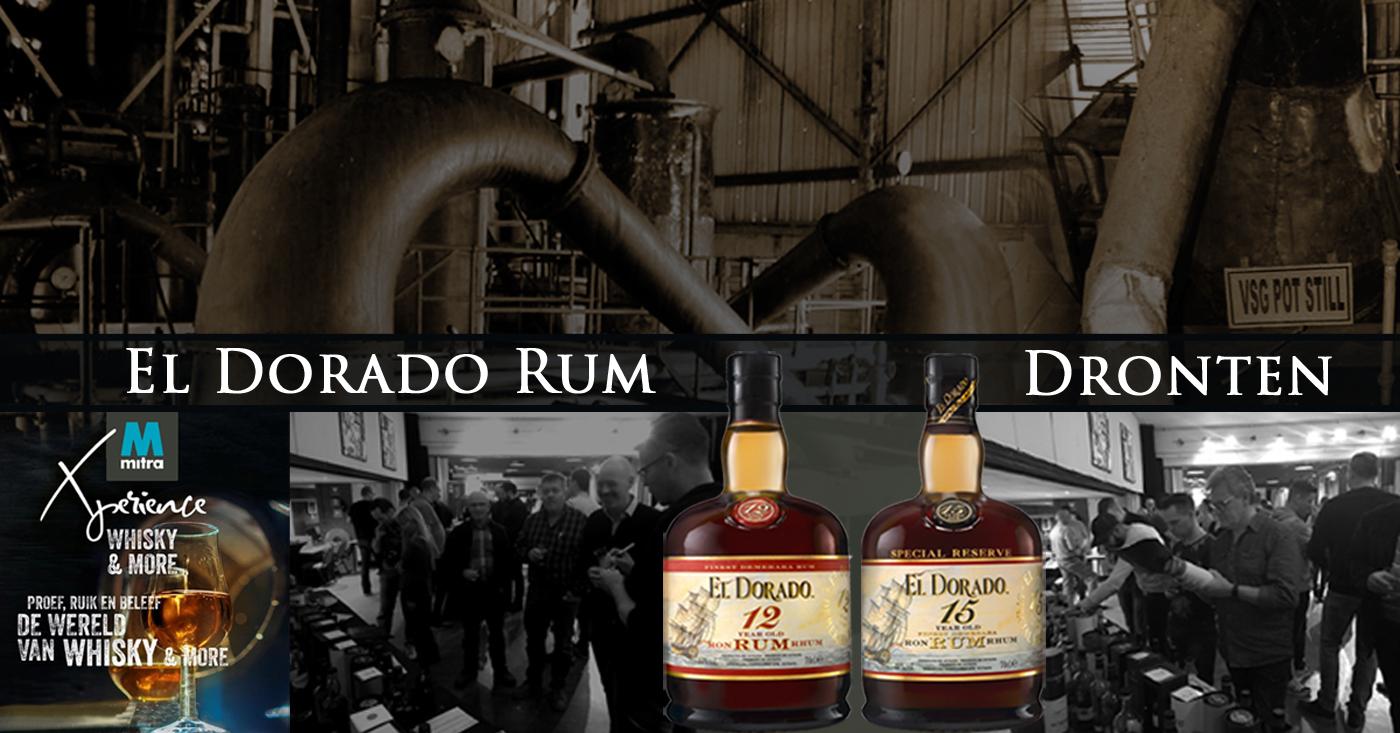 Bezoekers Mitra Whisky & More in Dronten gecharmeerd van El Dorado Rum
