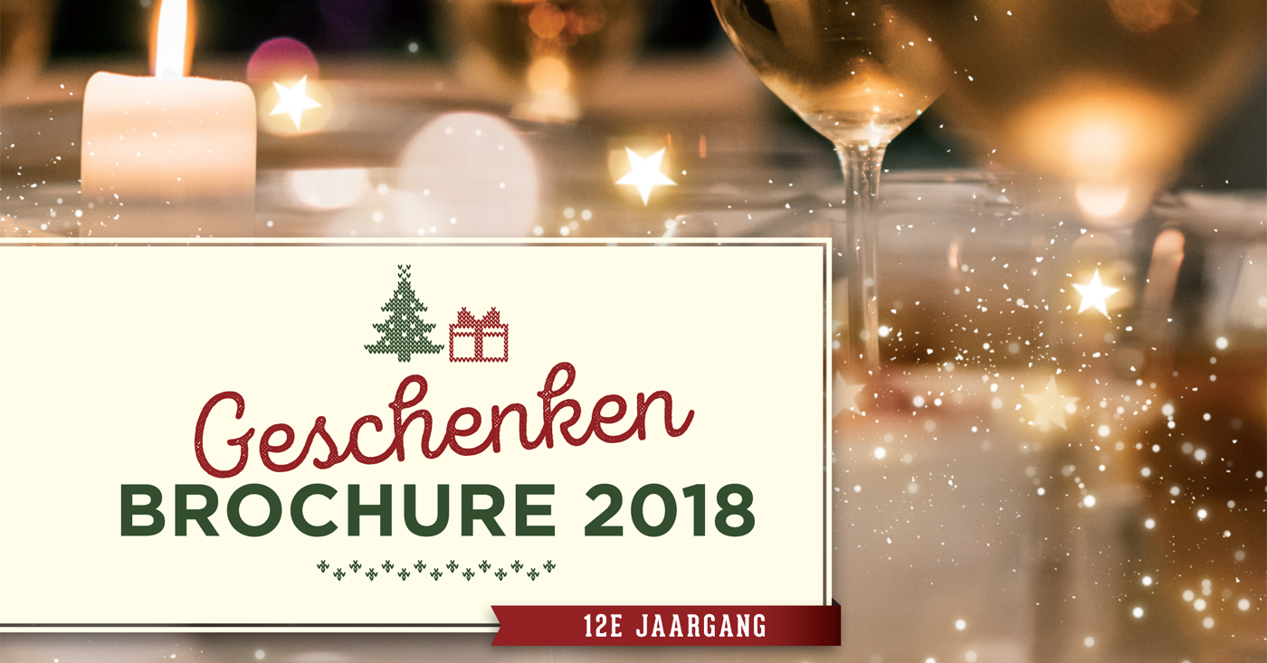De Monnik Dranken De Geschenken Brochure 2018 is uit