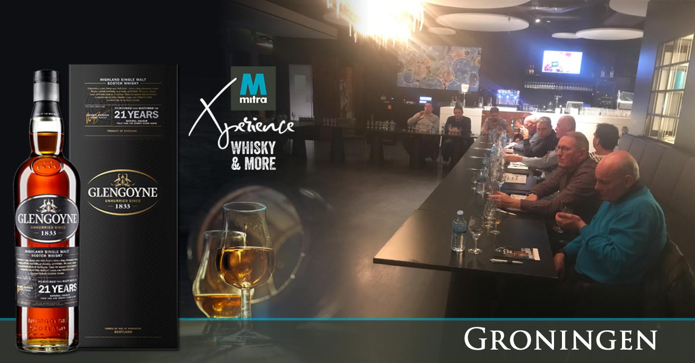Genieten van Glengoyne tijdens masterclass Mitra Whisky & More in Groningen