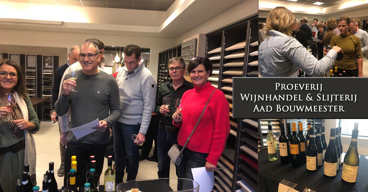 Geslaagde wijnproeverij in Leimuiden