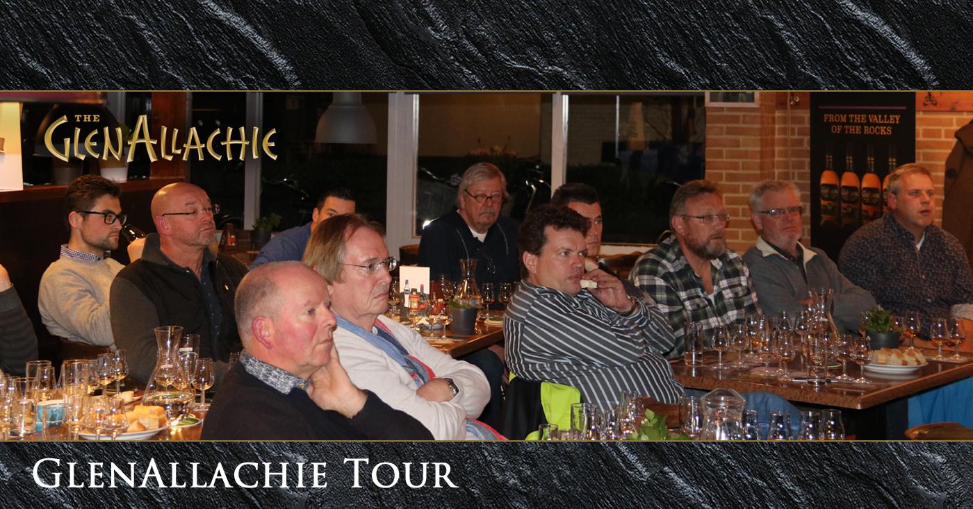 GlenAllachie on tour in Nederland