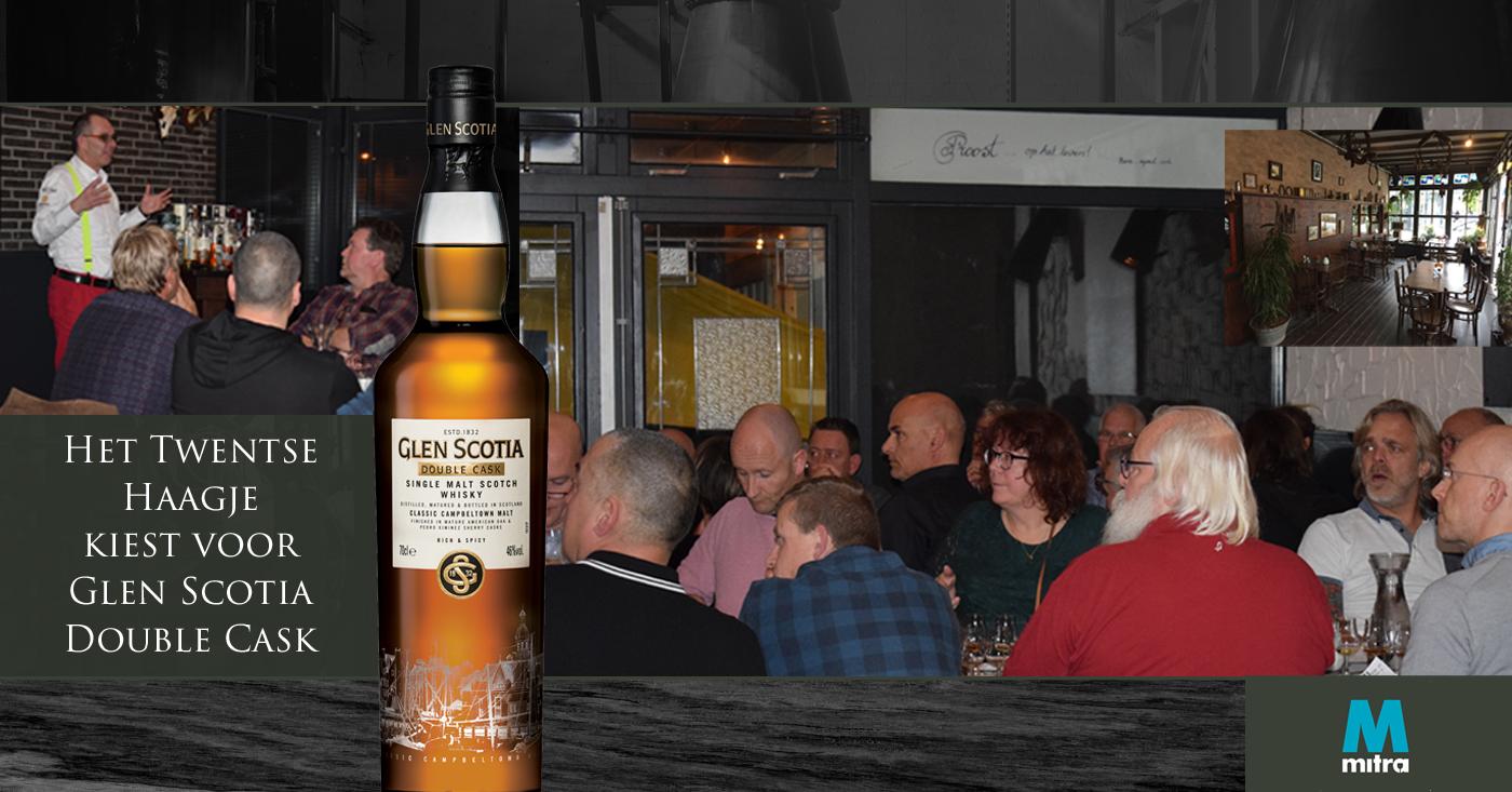 Het Twentse Haagje kiest voor Glen Scotia Double Cask