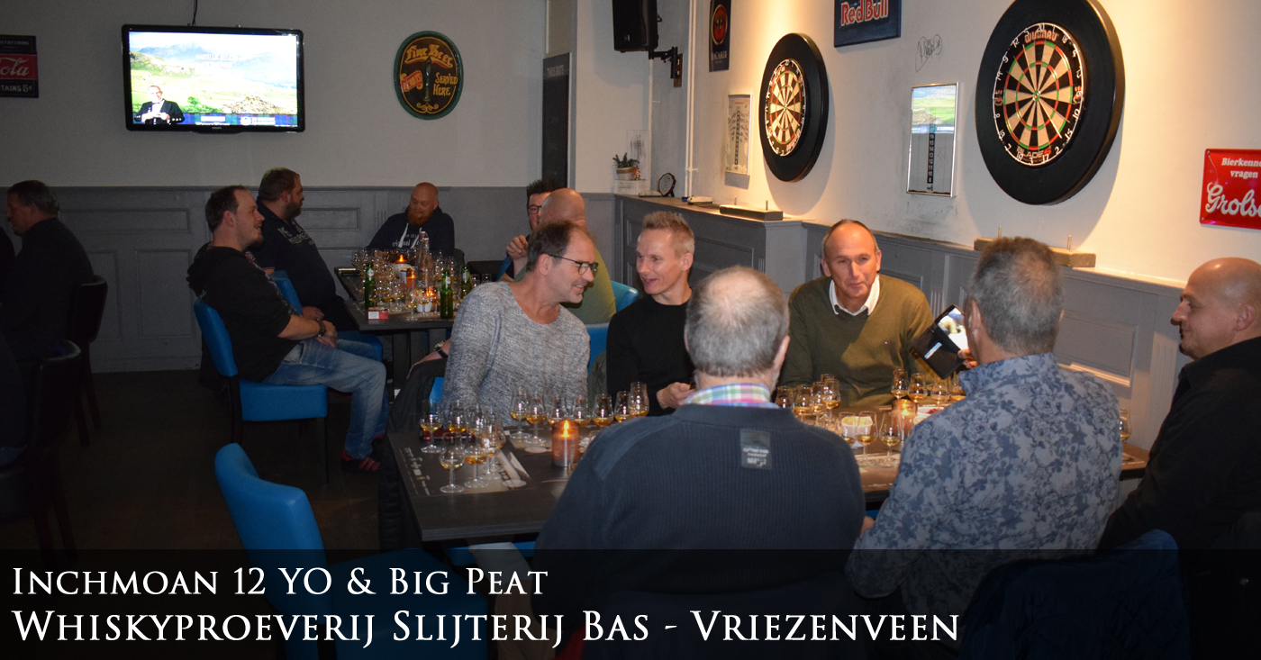 Inchmoan 12 YO en Big Peat vanzelfsprekend populair in Vriezenveen