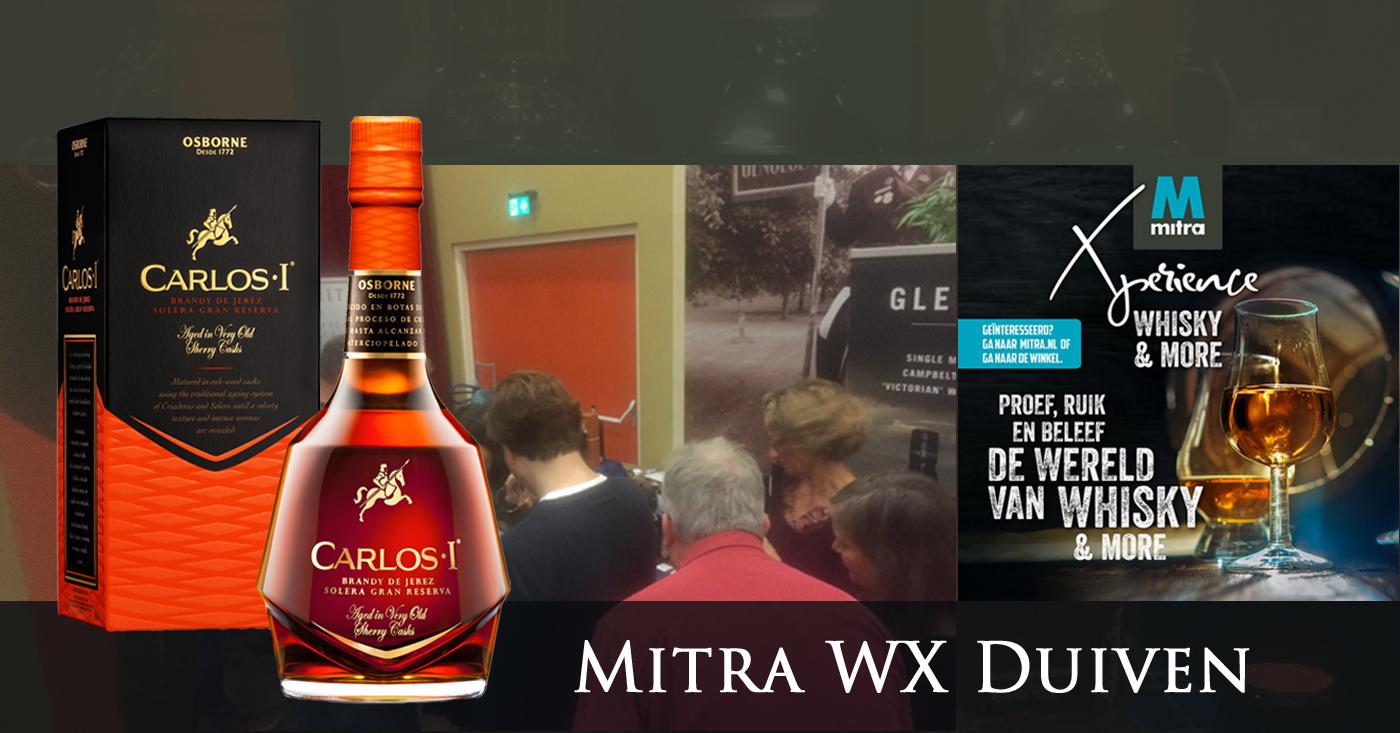 Koninklijk bezoek op Mitra Whisky & More in Duiven