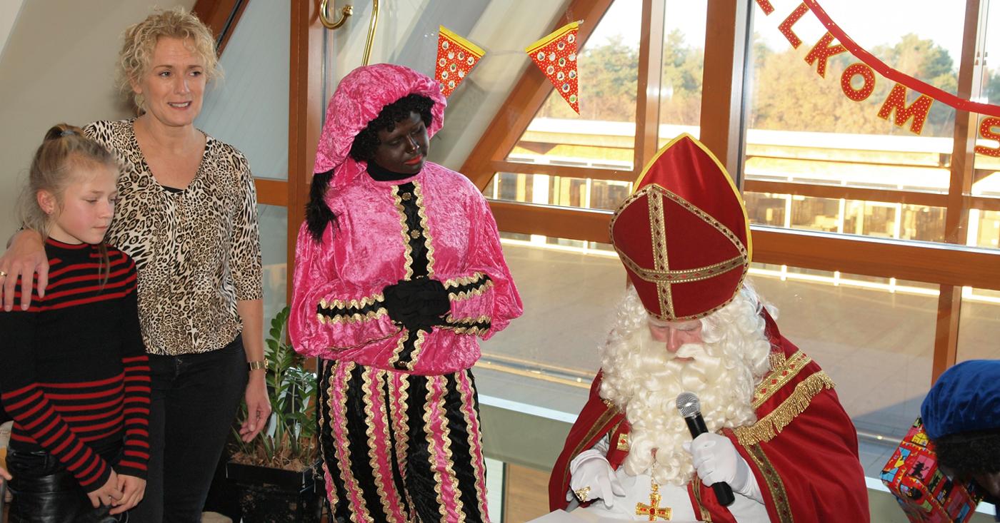 Sinterklaas op bezoek bij De Monnik Dranken
