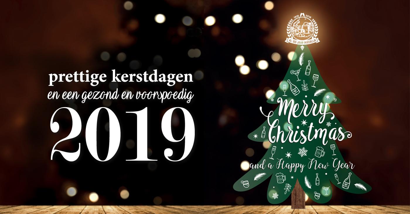 De Monnik Dranken wenst u fijne feestdagen en een succesvol 2019