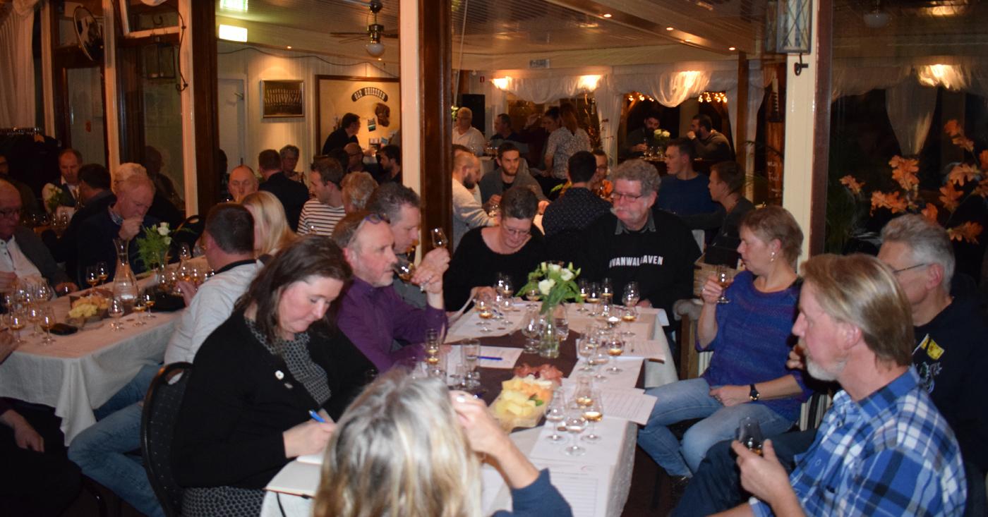 Glengoyne whisky's openen proeverij in Giessen-Oudekerk