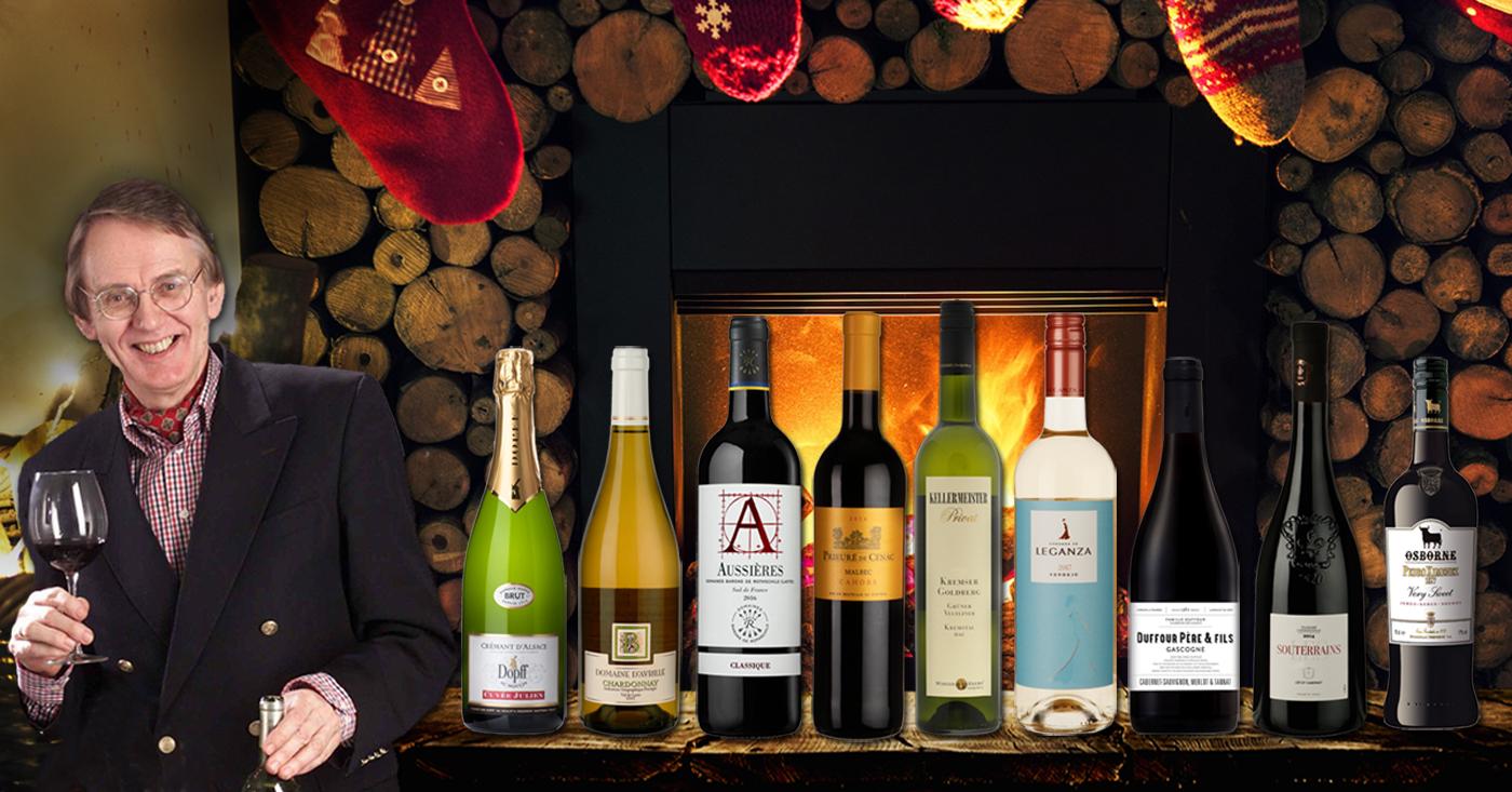 Onze wijnen op de kerstdis van Hubrecht Duijker