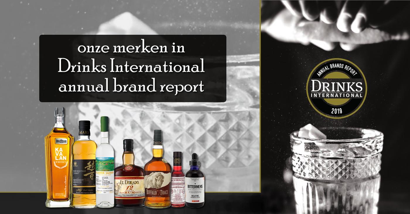 Eigen import merken De Monnik Dranken genieten erkenning van bartenders wereldwijd