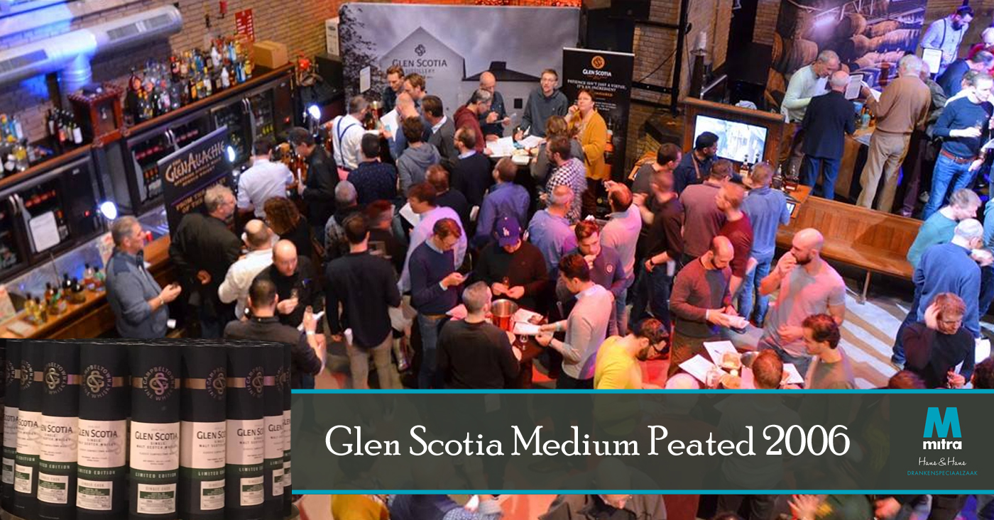 Glen Scotia jubileumvat op 10e editie Whisky Festival in Oirschot