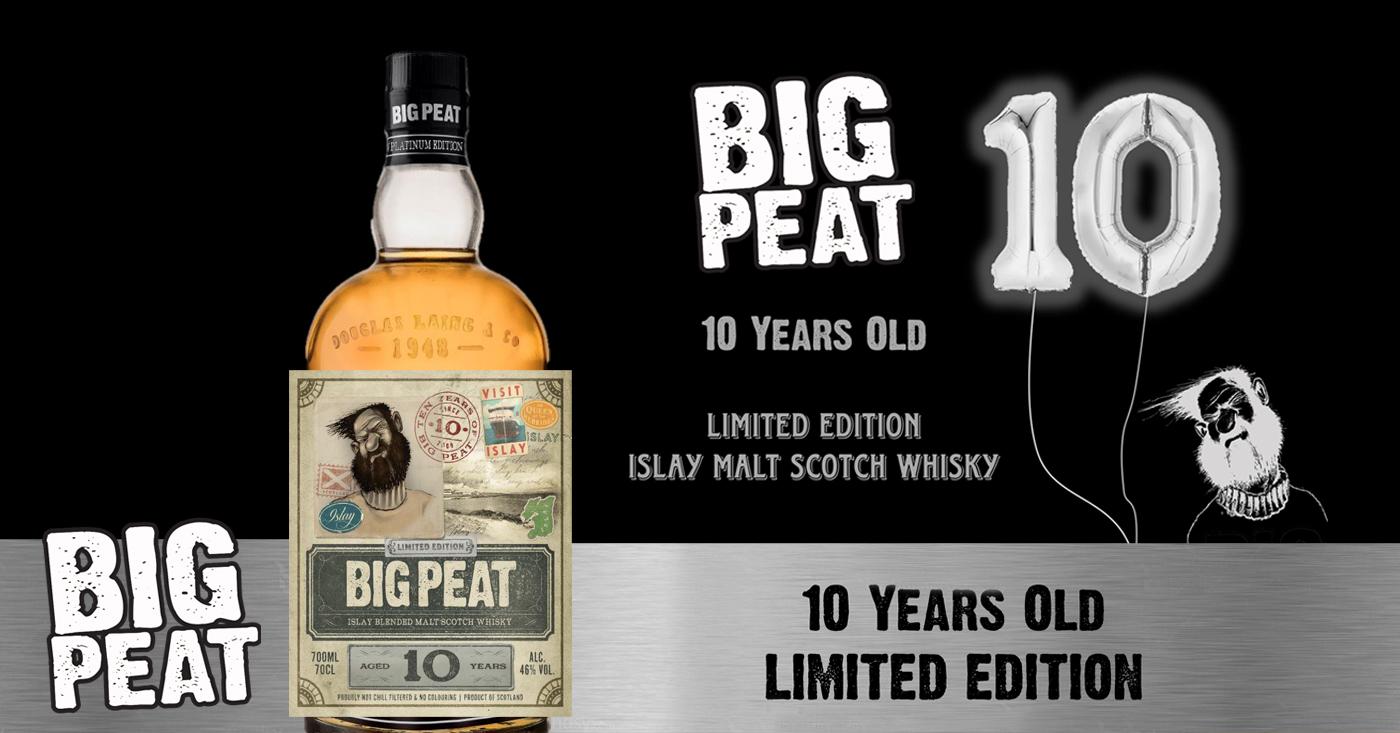 Big Peat viert verjaardag met een 10 jaar oude limited edition