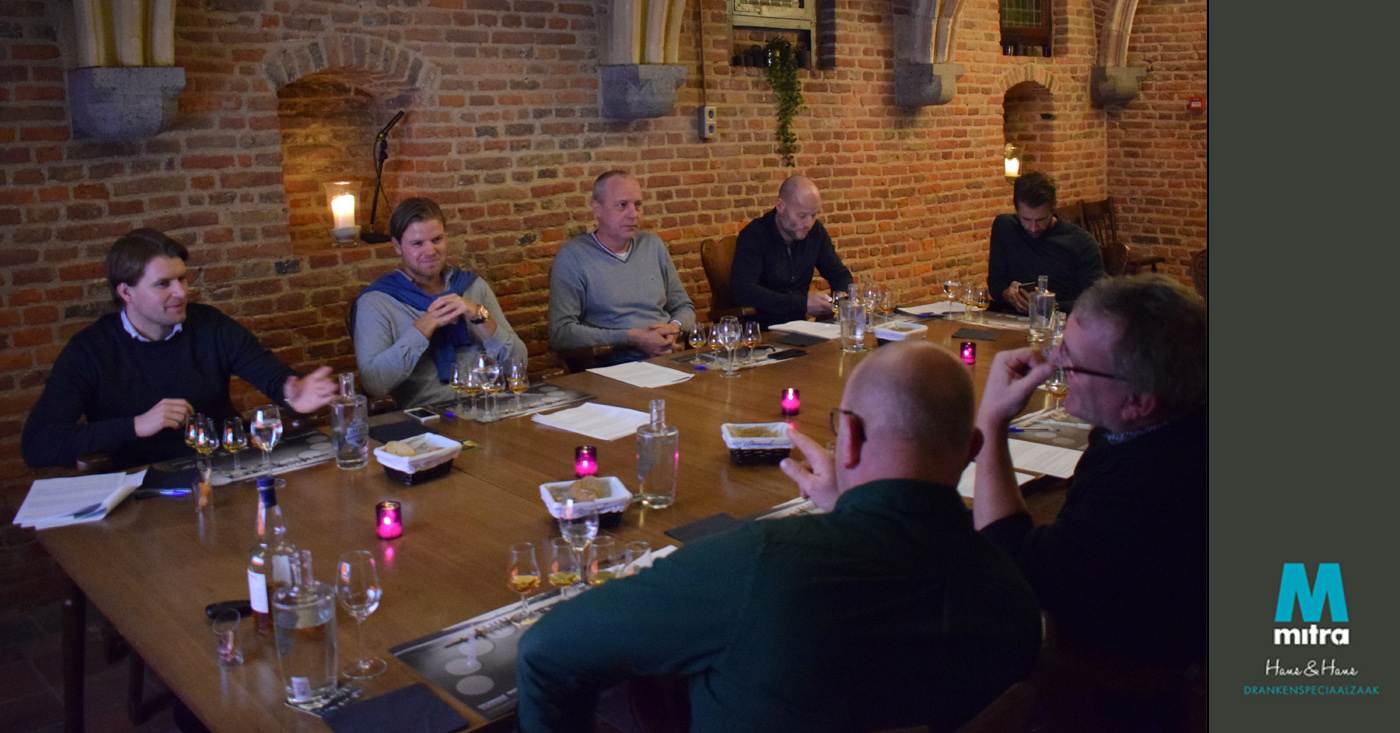 Ruim 2 eeuwen aan whisky's op proeverij bij Mitra Hans & Hans