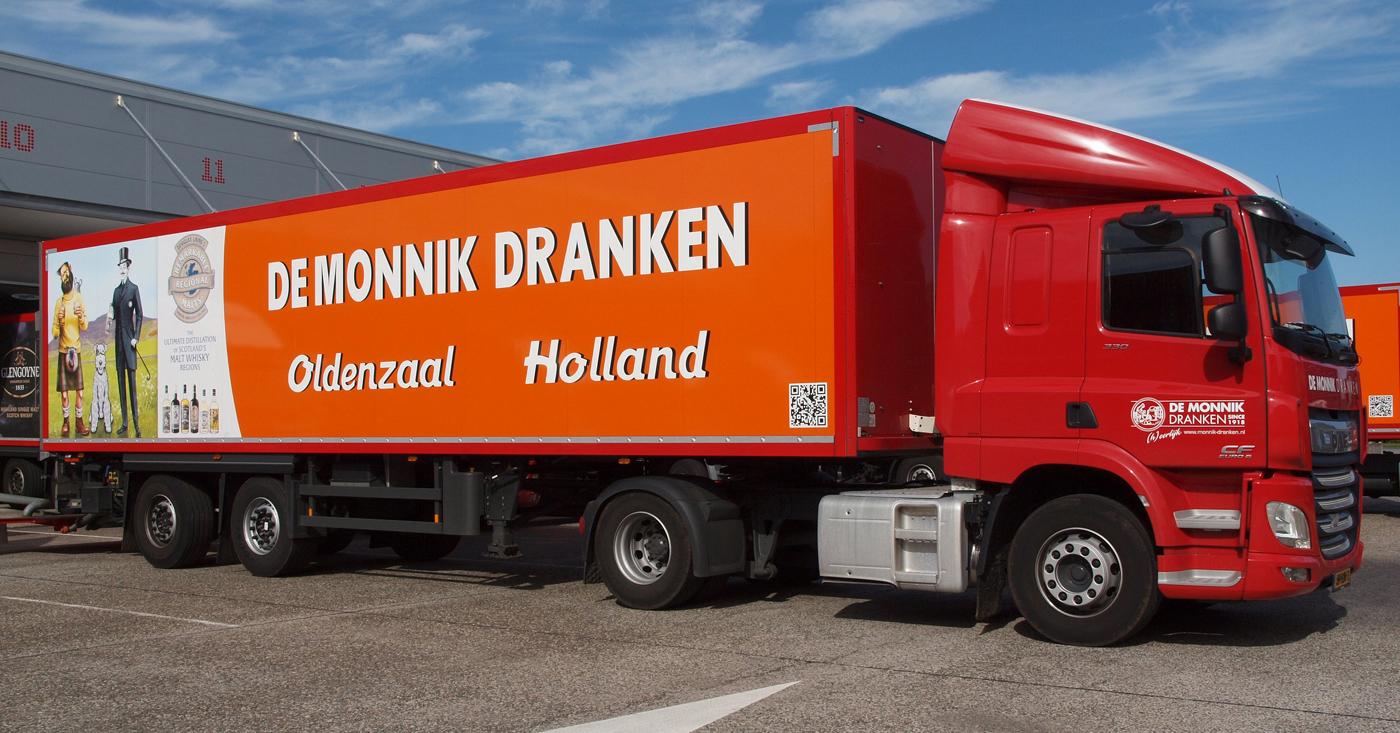 Vrachtwagen De Monnik Dranken