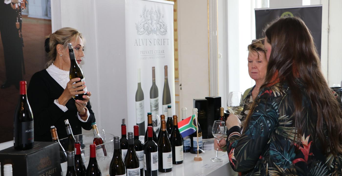 Alvi's Drift op Monnik Wine Experience op Paleis Soestdijk