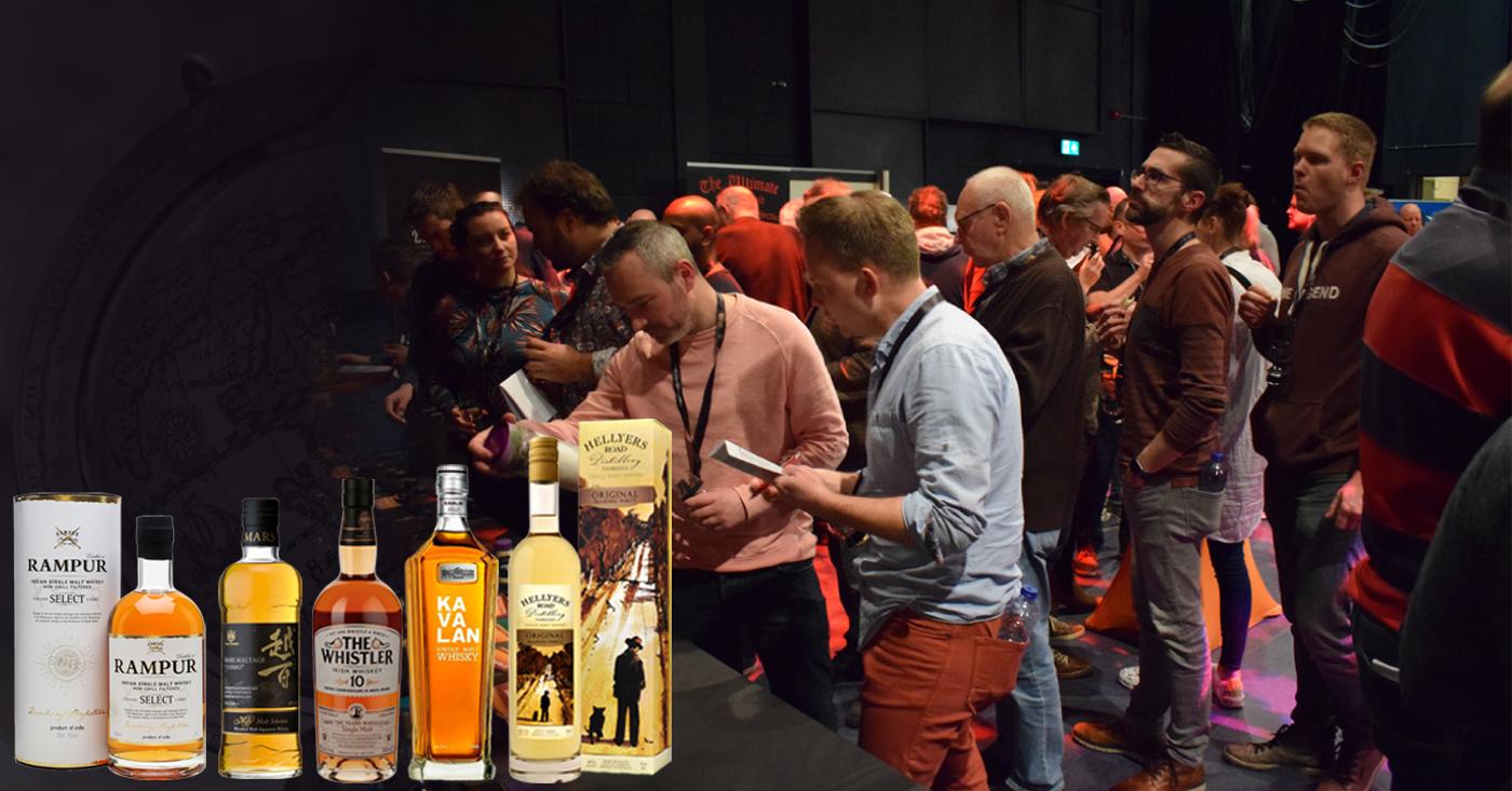 Bezoekers Woudenberg Whisky Event ontdekken een wereld aan whisky's