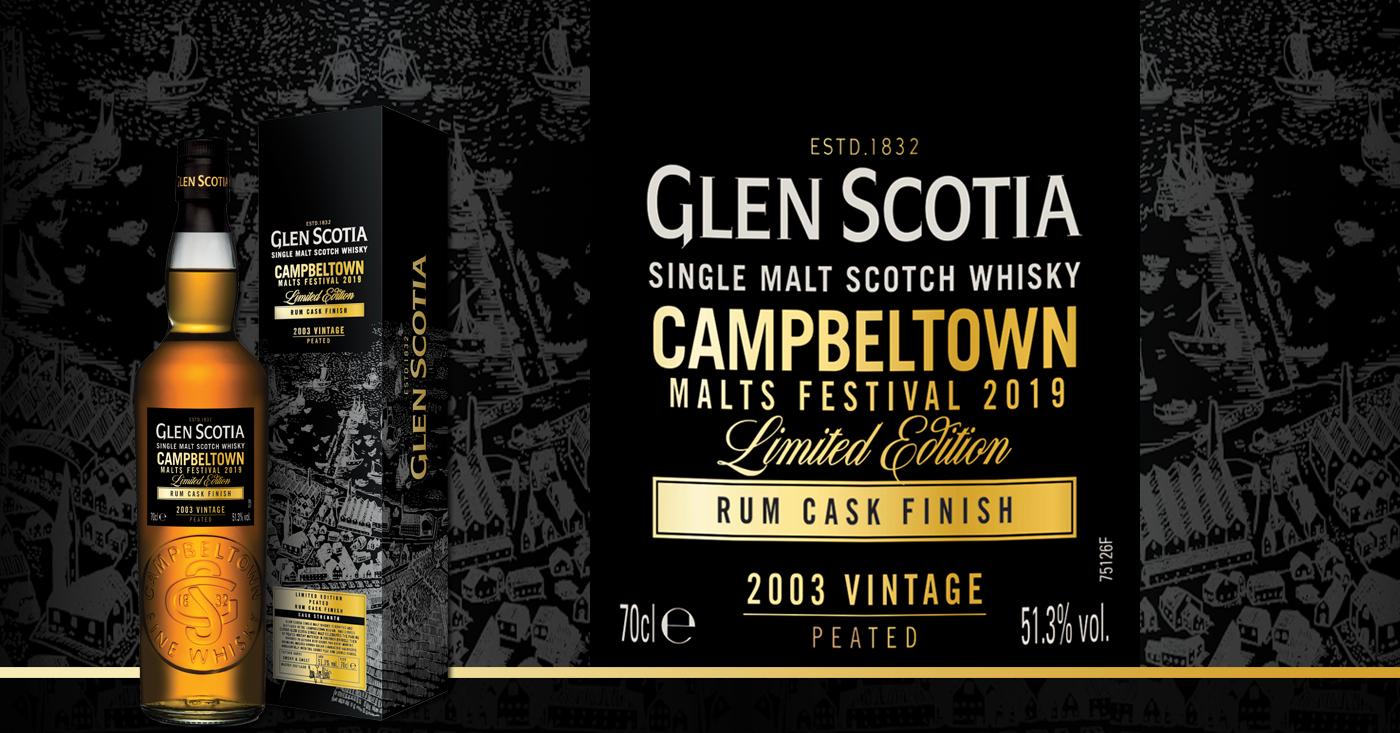 Glen Scotia komt met Campbeltown Festival Editie 2019