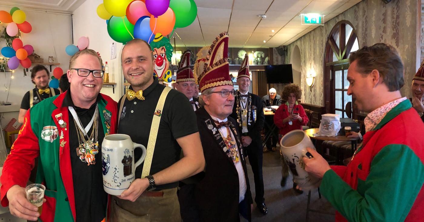 Hoogheden bij De Monnik Dranken op bezoek & Carnavalstour 2019