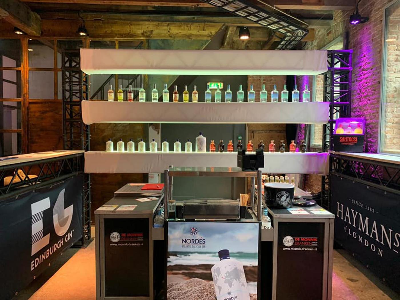 Nordés en Edinburgh Gin favoriet op Gin Festival Leiden overzicht gin soorten De Monnik