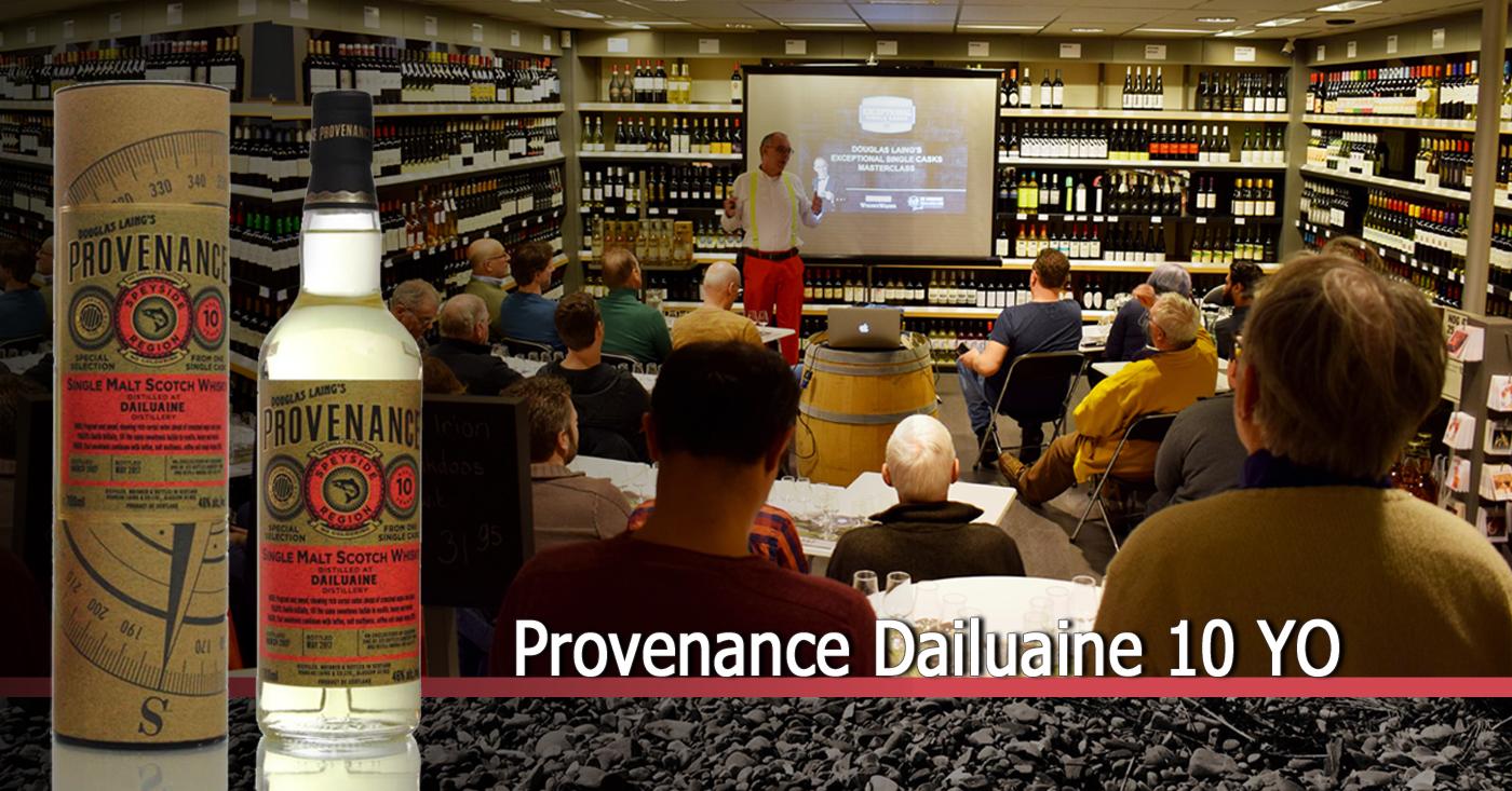 Provenance Dailuaine 10 YO maakt indruk op whiskyproeverij in Vlijmen