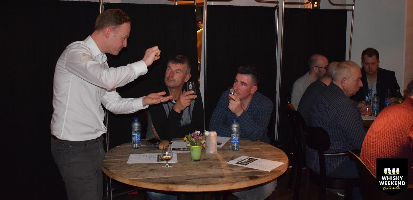 Speed Tasting met Donald MacLellan