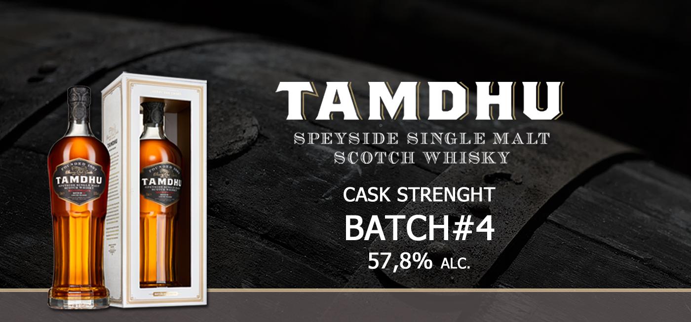 Tamdhu Distilleerderij lanceert nieuw cask strength batch #4