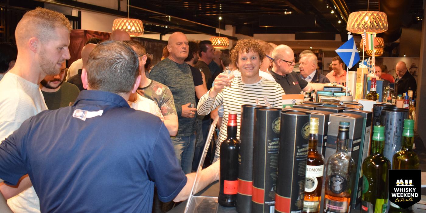 Vuurdoop Arjan Hartkamp op Whisky Weekend Twente