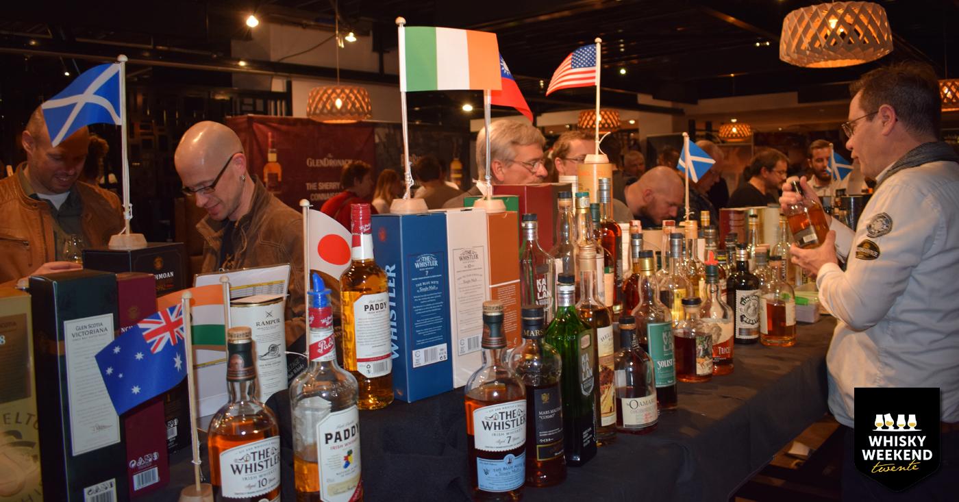 Wereld van Whisky's op Whisky Weekend Twente