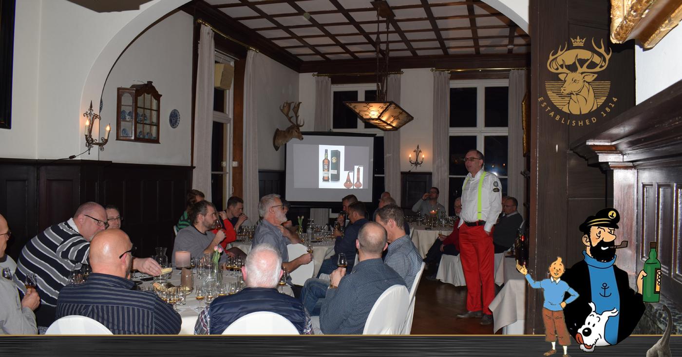 Whiskyliefhebbers Ede leren over Kapitein Haddock, Loch Lomond en het monster van Loch Ness