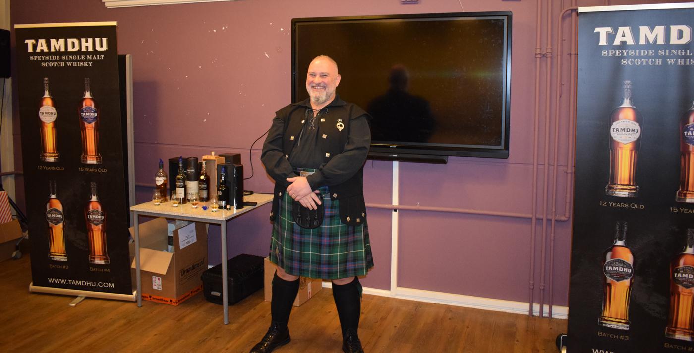 Kenny MacDonald op Whisky Festival Noord-Nederland