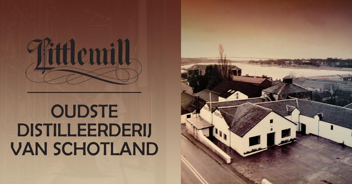 Nieuw bewijs voor Littlemill als oudste distilleerderij van Schotland