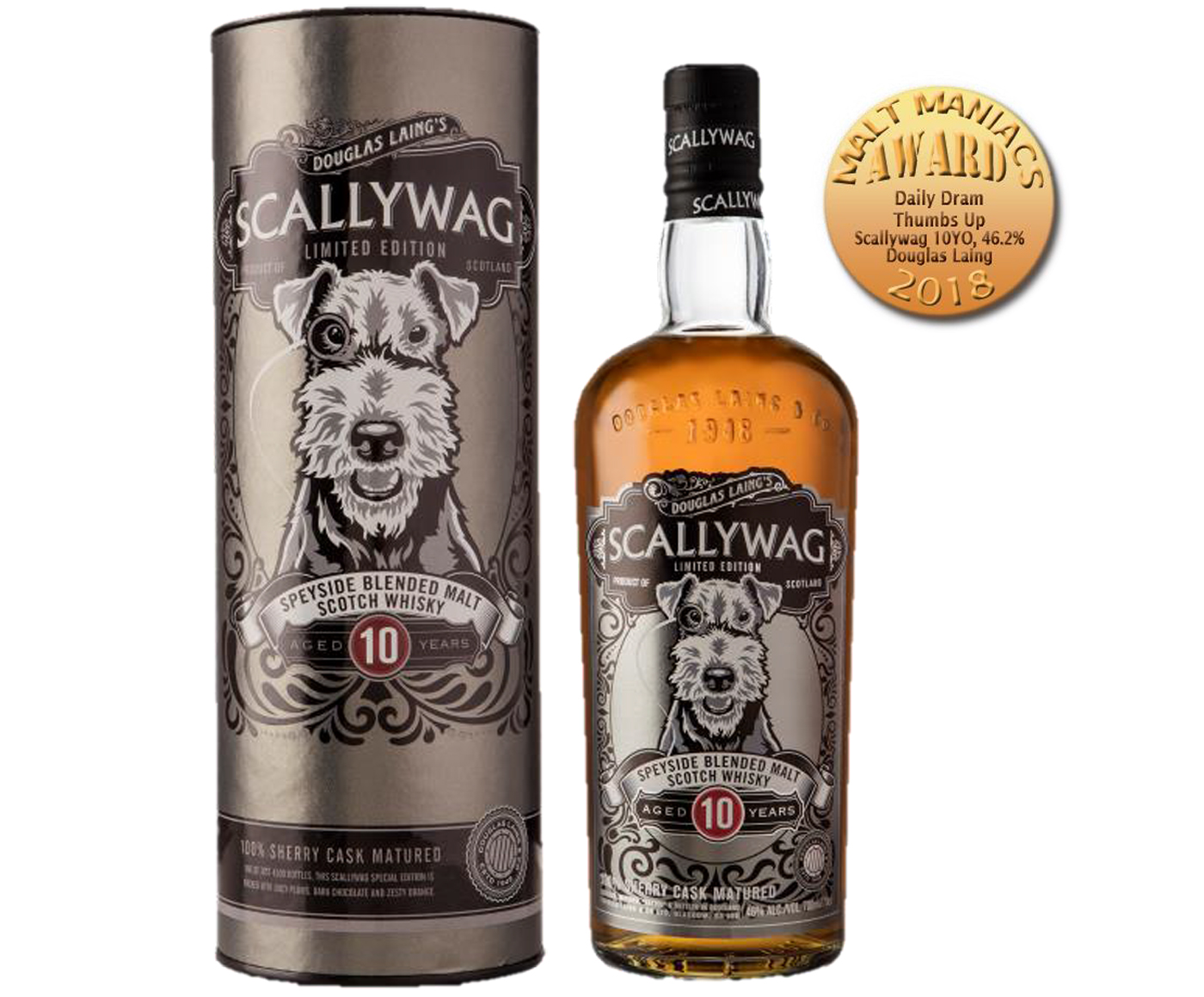 Scallywag 10 Years Old Limited Edition Speyside Malt Scotch Whisky