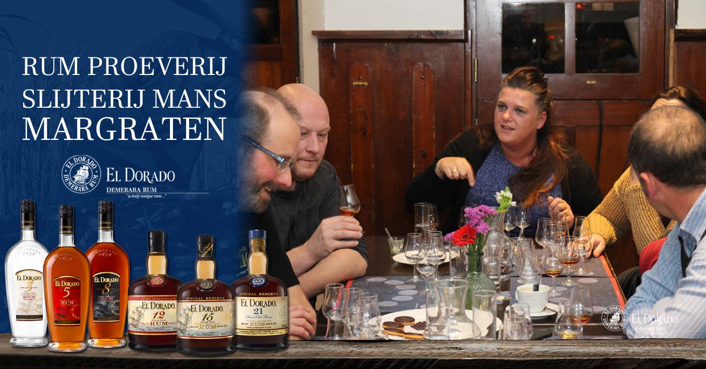 Slijterij Peter Mans El Dorado Rum proeverij Margraten