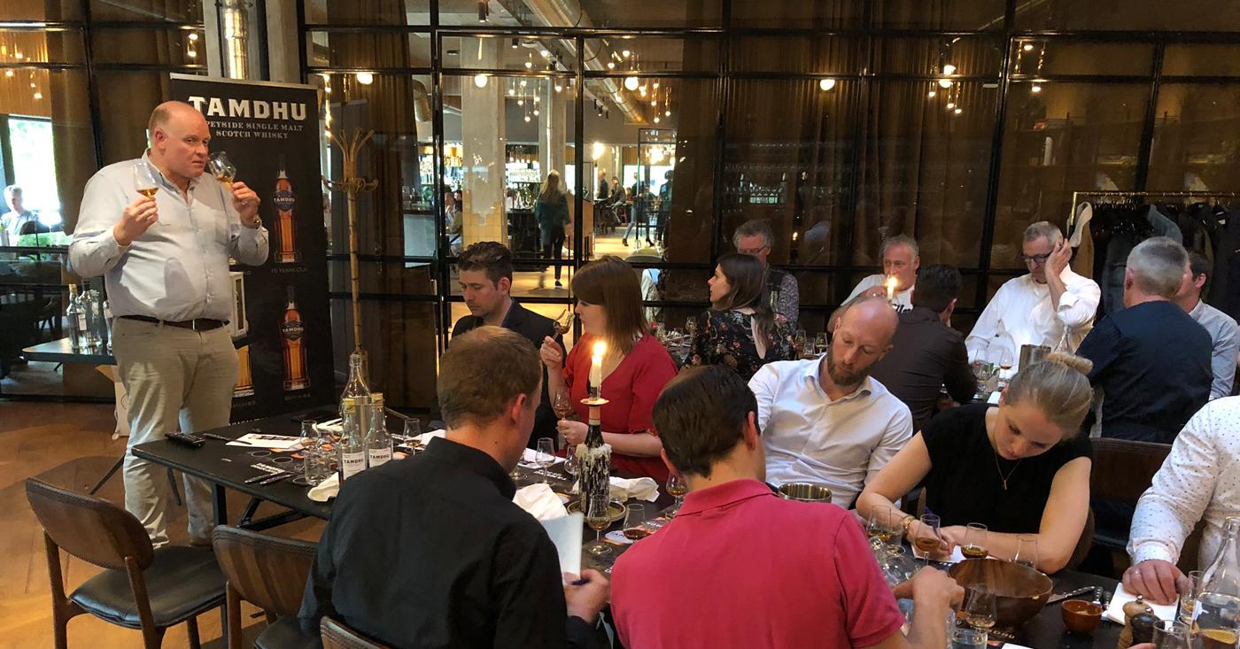 Tamdhu Whisky Diner 2019 groot succes